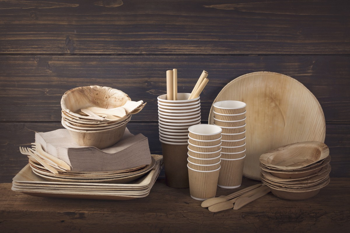 Упаковка для одноразовой посуды